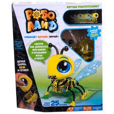 Робот <b>1toy</b> Т16238 РобоЛайф: Пчелка (<b>модель для сборки</b>)