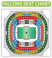 2 Atlanta Falcons Vs New Orleans Saints Tickets Sec 210c
