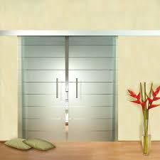 image of modern glass door