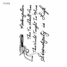 Hxman английский письмо водонепроницаемый временные татуировки стикеры для женщин
