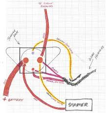relay starter gt 40 correctcraftfan com forums 92 mustang starter solenoid wiring diagram at Mustang Starter Solenoid Wiring Diagram