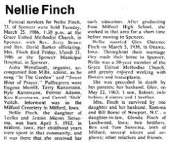Nellie T Sietsema Finch (1912-1986) - Find A Grave Memorial