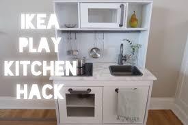modern ikea play kitchen hack  youtube