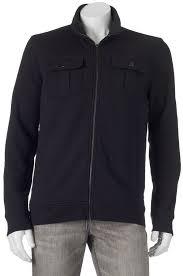 big tall apt 9 modern fit solid four pocket military jacket