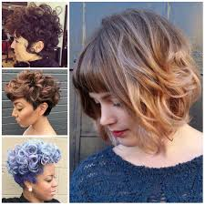 Short Wavy Hair Style wavy hairstyles haircuts hairstyles 2017 and hair colors for 7028 by wearticles.com