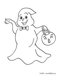 Ghost Coloring Sheets