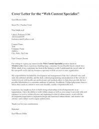 A Proper Cover Letters 030 Cover Letter With No Name Heading Format Copy Business