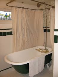 image of design clawfoot tub shower conversion kit