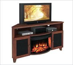fireplace corner tv stand shaker style corner stand with curved electric fireplace corner fireplace tv stand
