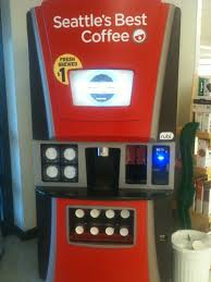 Seattle's Best Vending Machine Stunning Rubi Microcafes Seattle's Best Coffee Popup Shops In Selected