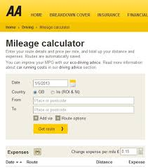 Aa Launch New Fleet Mileage Calculator Motor Trade News