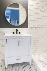 the bathroom mirror i chose how to hang a bathroom mirror over your vanity
