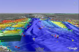 Noaa Bathymetric Charts Earthnc Noaa Estuarine Bathymetry Depth Layers For