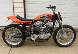 beautiful new harley lawwill street tracker by bob netherton