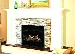 metal fireplace surround black painted ideas fi