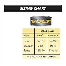 Active Ankle T2 Size Chart Active Ankle Volt Ankle Brace Rigid Ankle Stabilizer For Protection Sprain Support For Volleyball Cheerleading Football Braces To Wear Over