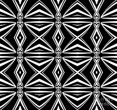 Abstract Art Black And White Patterns Geometric Art Pattern Black White Abstract Print No 211