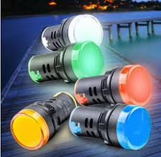 22mm Indicator Lights 22mm Red Yellow Blue Green White Ad16 22ds Led Indicator