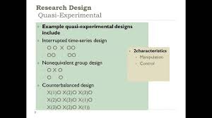 Counterbalance Research Design In Psychology Developing A Quantitative Research Plan Choosing A Research