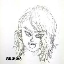 赤身 Akami On Twitter 新しい髪型に描き直したら人造人間18号みたいに