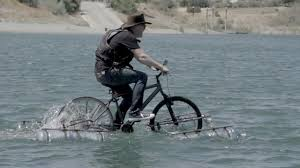 Bicycle Boat High Speed Footage Mythbusters Youtube