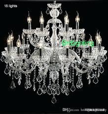 18 light chandelier light burnt sienna