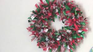 Scrap Ribbon Wreath