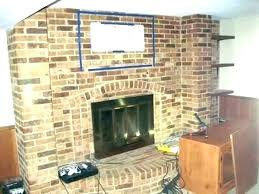 best of hang over fireplace for mounting a inch above hanging tv brick fi