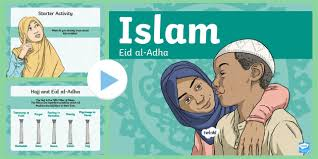 On this day muslims sacrifice (qurban) an animal, and divide into three parts, one part is distributed among the poors, second part is given to the relatives and third part is kept at home for own use. Ks2 Eid Al Adha Powerpoint Primary Resources