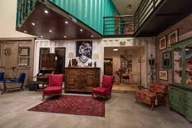 Distinctive Designs Furniture Inc Zinjaar Vintage Opens In Dubai With Rustic Furniture And Artwork