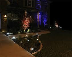 image of led landscape lighting front yard