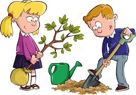 Image result for cartoon planting