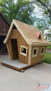 crooked playhouse plans free new crooked kids playhouse for a fundraiser