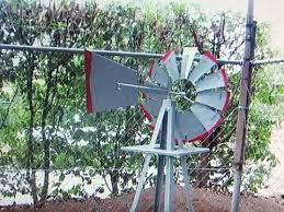 garden windmill ornament 180cm 6ft
