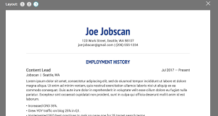 free resume review top 10 free resume builder reviews jobscan blog