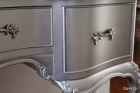 silver painted furniture. What To Know Before Using Metallic Paint Painted Furniture Ideas Silver E