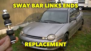 How to install Sway Bar End links. Plymouth/Dodge Neon. - YouTube