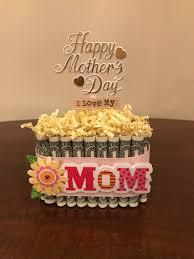 Mothers Day Money Cake Mom Or Grandma Etsy