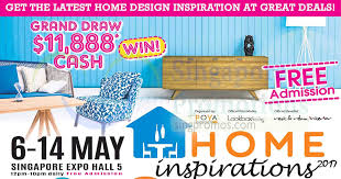 Small Picture Home Inspirations 2017 furnishing fair at Singapore Expo from 6