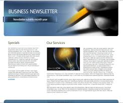Business Newsletter Templates Free Download Download Free HTML Business Newsletter Template 100Boats 2