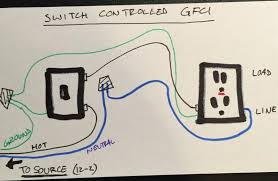 wire a switch to power a gfci outlet electrical diy chatroom wire a switch to power a gfci outlet image 1464363119997 jpg