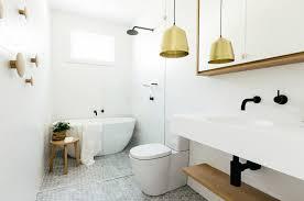 modern scandinavian inspired bathroom