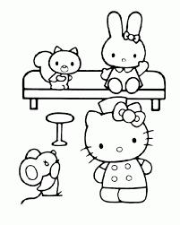 Niewu Hello Kitty Kleurplaten Kleurplaat 2019