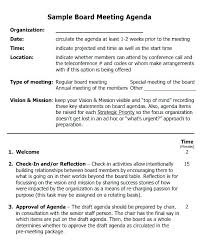 Meeting Minutes Template Free Sample Board Meeting Minutes Template