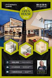 real estate flyer templates photoshop real estate flyer templates freepsdflyer open house real