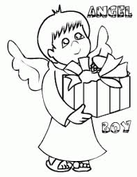 Small Picture beautiful angel boy coloring pages for preschoolers Coloring Point