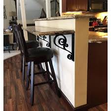 gallery of iron corbels for granite decorative that good countertops