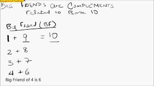Kindergarten Abacus Math Lesson 6 Complements Base 10, Big Friend ...