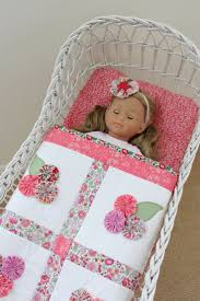 12275 best Country chic images on Pinterest | Bedspreads ... & Happy Day Liberty Yo-Yo Block + Doll Quilt Adamdwight.com