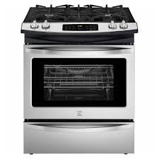 Gas Range With Gas Oven Kenmore 32603 45 Cu Ft Slide In Gas Range Stainless Steel